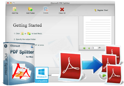 iStonsoft PDF Splitter for Mac
