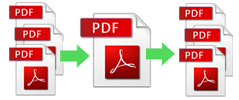 merge and split pdfs