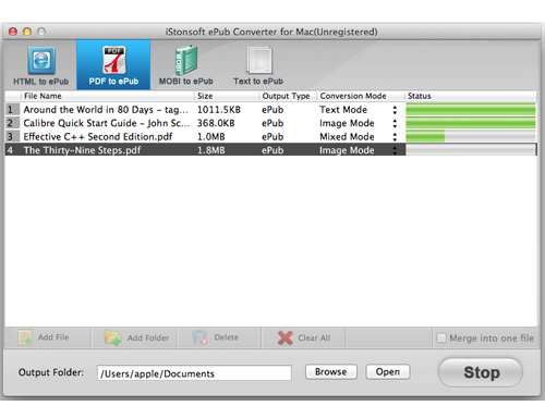 Epub To Mobi Converter for Mac - Free downloads and ...