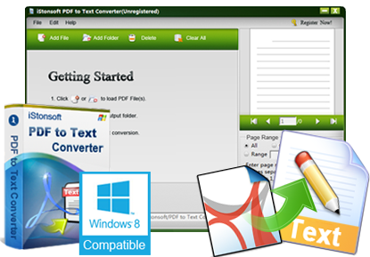 iStonsoft PDF to Text Converter