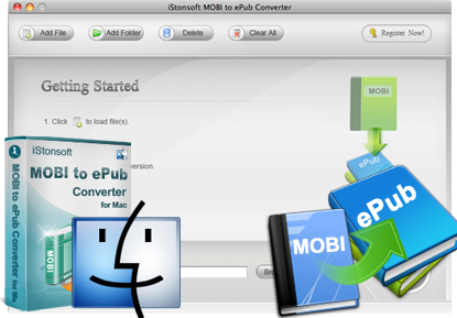 iStonsoft MOBI to ePub Converter for Mac