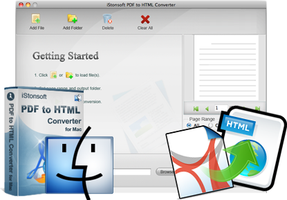 iStonsoft PDF to HTML Converter for Mac