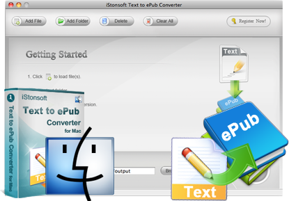 iStonsoft Text to ePub Converter for Mac