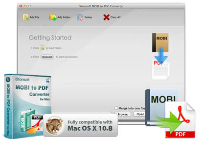 iStonsoft MOBI to PDF Converter for Mac