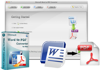 iStonsoft Word to PDF Converter for Mac