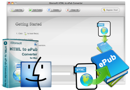 iStonsoft HTML to ePub Converter for Mac
