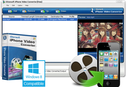 iStonsoft Free iPhone Video Converter