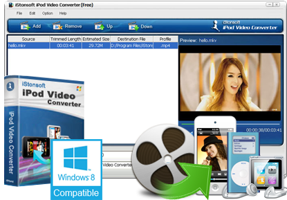 iStonsoft Free iPod Video Converter