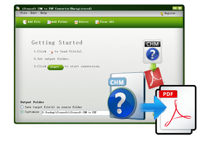 iStonsoft CHM to PDF Converter