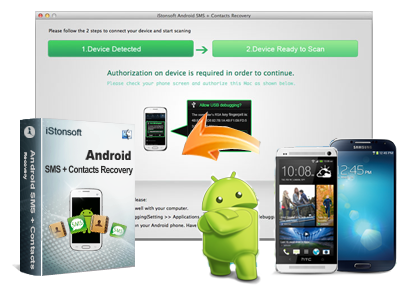 iStonsoft Android SMS+Contacts Recovery (Mac Version)
