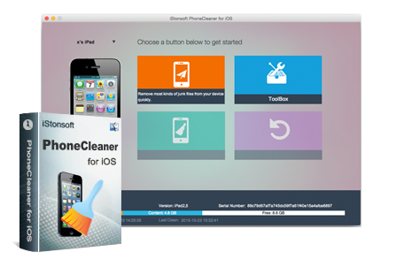 iStonsoft PhoneCleaner for iOS (Mac)